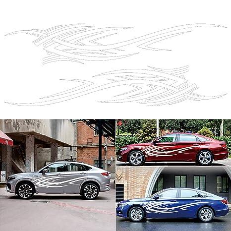 RENNICOCO Flammen-Abziehbilder-Auto-Aufkleber-voller K/örper-Auto-Styling-Vinylabziehbild-Aufkleber f/ür Auto-Dekoration
