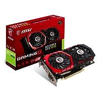 MSI NVIDIA GeForce GTX 1050 GAMING X 2G 2 GB GDDR5 128 Bit Memory HDMI/DP/DVI PCI Express 3 Graphics Card - Black