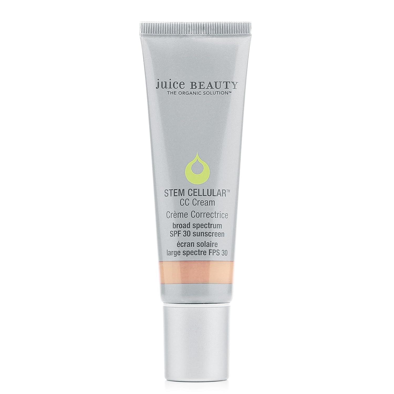 Juice Beauty Stem Cellular CC Cream, 1.7 fl oz, Mineral SPF 30, Broad Spectrum UVA UVB, Organic, Reef Safe, Vegan, Non-Toxic, No Chemical, Cruelty Free