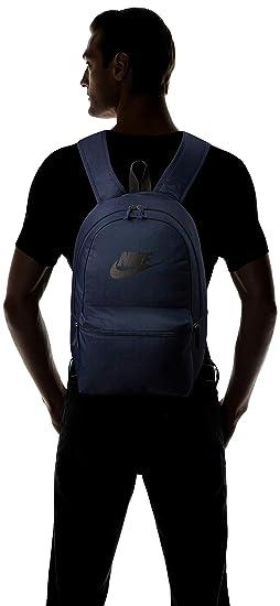 Amazon.com: NIKE Backpack Unisex Heritage Sportswear (One Size, Obsidian): Nike: Computers & Accessories