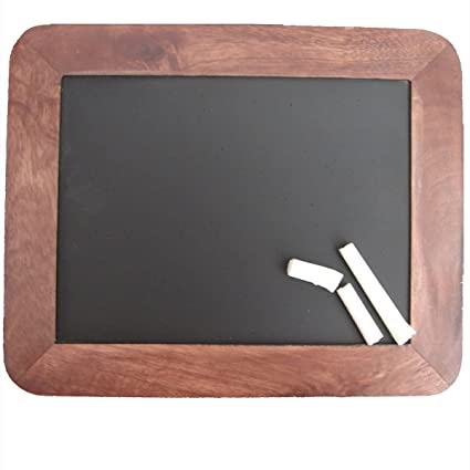 amazon com child s slate chalkboard blackboard writing chalk board