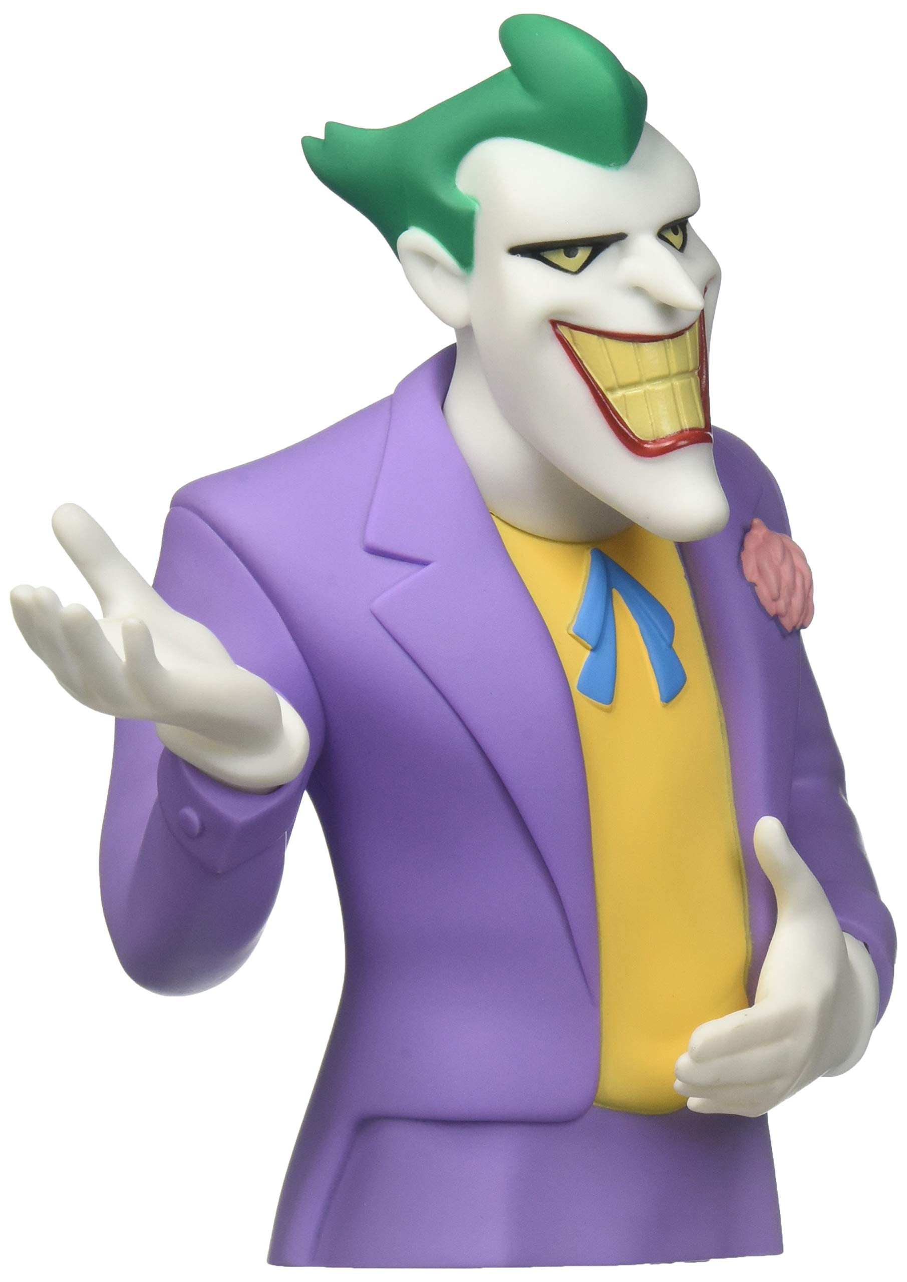 Batman Animated Series Joker Bust Bank: Diamond Select: 9781605846941:  Amazon.com: Books