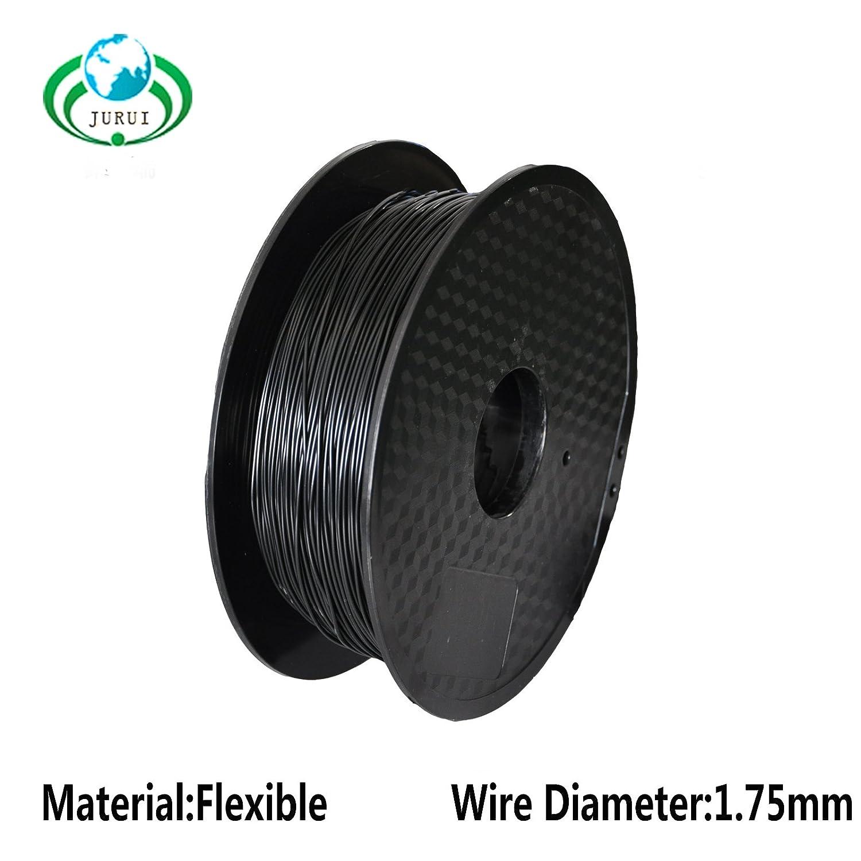 Accuracy +//- 0.05mm 1.75mm Net With Flexible TPU 3D Printers Filament Black