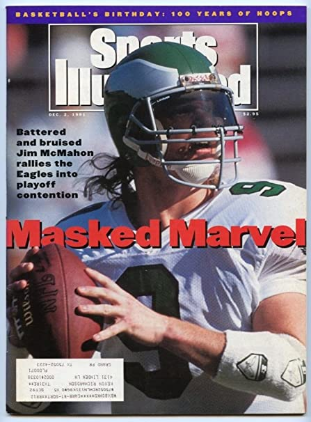 90976aff89c SI: Sports Illustrated December 2, 1991 Jim McMahon, Football, Eagles, VG