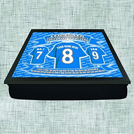Leicester City Football Shirt Personalised Lap Tray