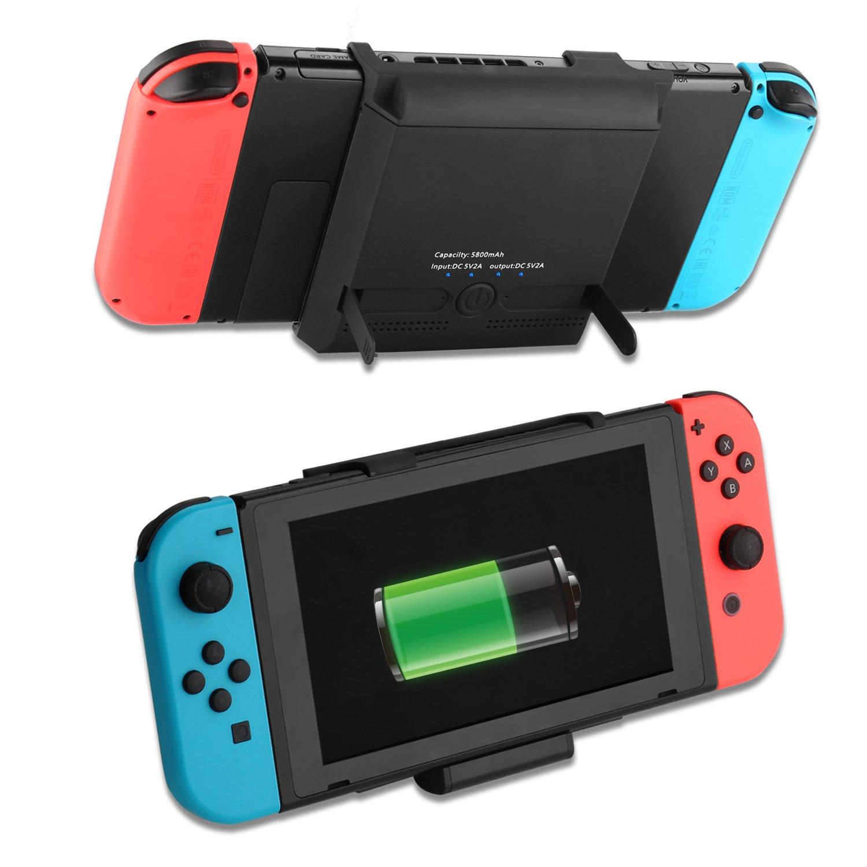 Amazon.com: Funda para batería para Nintendo Switch de 5800 ...