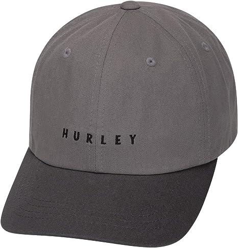 Hurley M Blended Hat Gorras, Hombre, Anthracite, Talla Única: Amazon.es: Ropa y accesorios