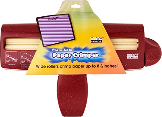 Amazon.com: Uchida 8.5-inch Straight Corru-gator Paper Crimper: Home & Kitchen