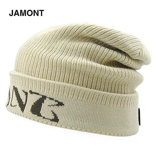 DGdolph Gorra Jamont Hombre Sombreros de Hip-Hop Fibras acrílicas ...