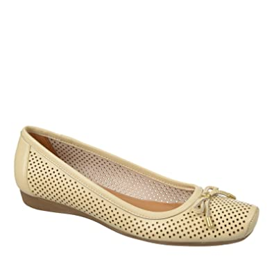 Womens Shoes Naturalizer Vanessa Pale Ivory Leather