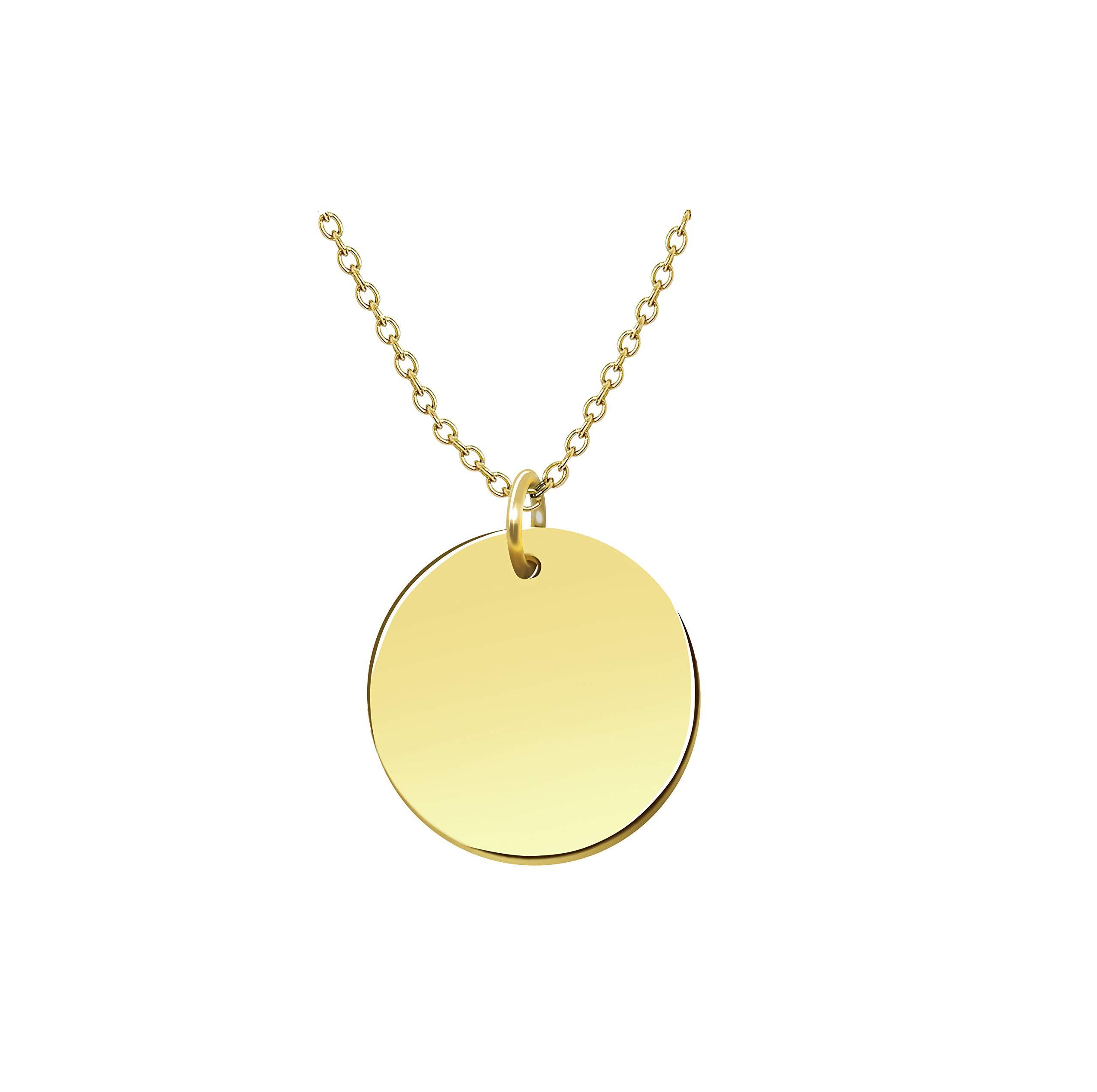 Goldkette für Gravur geeignet