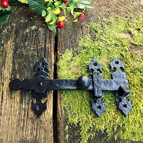 antikas – Portería pestillos para puerta de jardín Colcha Antiguo – überwurfriegel puertas Caso cerrojo: Amazon.es: Bricolaje y herramientas