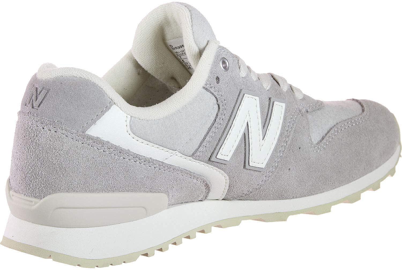 New Balance Damen Suede 996 Sneaker Grau (Grey Yc)