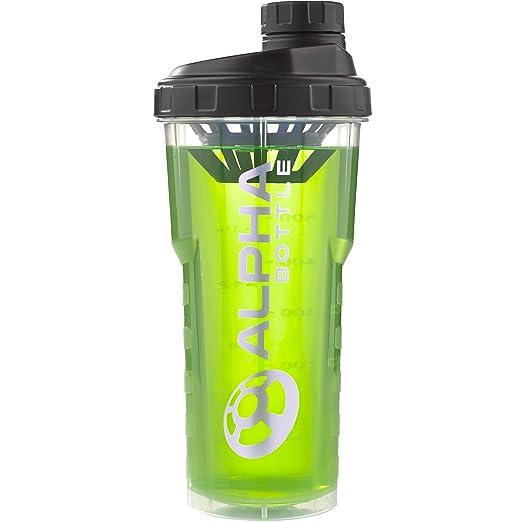 56 opinioni per Alpha Bottle 750ml proteine shaker (nero)