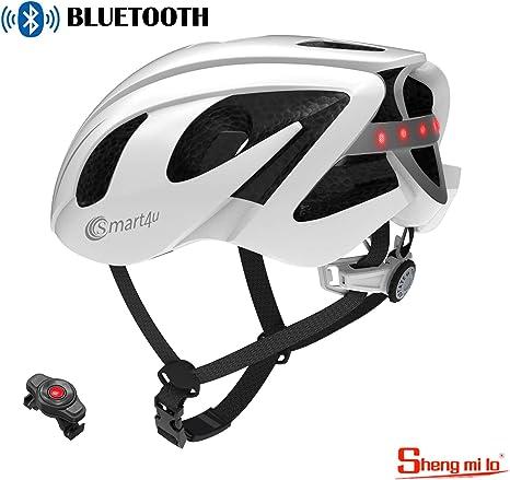 Shengmilo Casco Inteligente De Bicicleta Bluetooth con Control ...