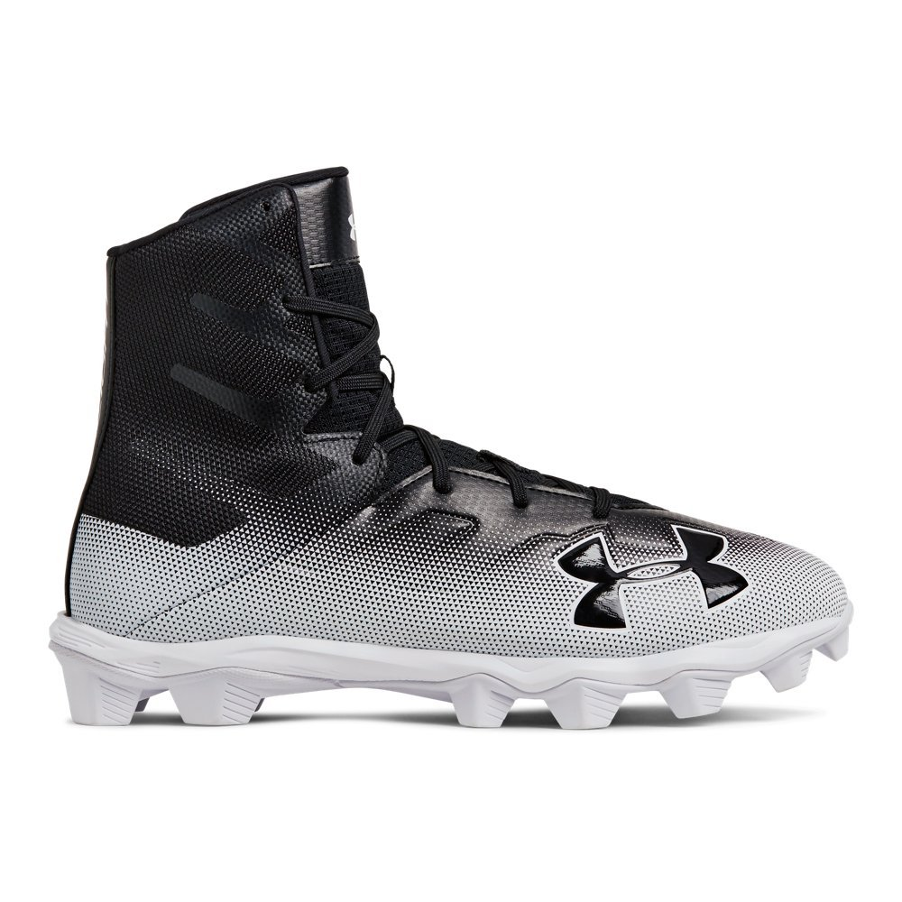 Under Armour Men's Highlight RM Football Shoe, Black, 11.5