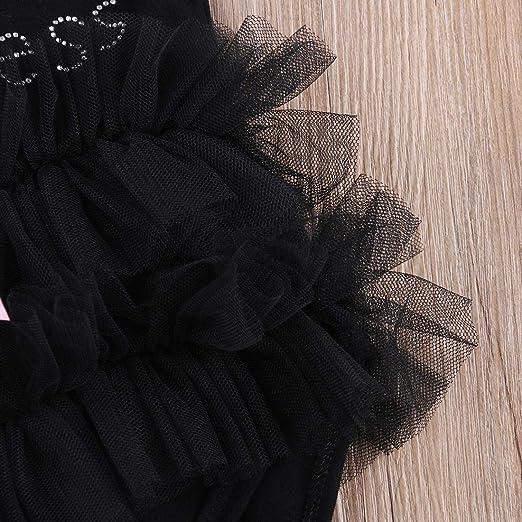 FONLAM Vestido de Bautizo Boda para Beb/é Ni/ña Vestido Princesa Fiesta Cumplea/ños Bordado Ceremonia Beb/é Reci/én Nacido