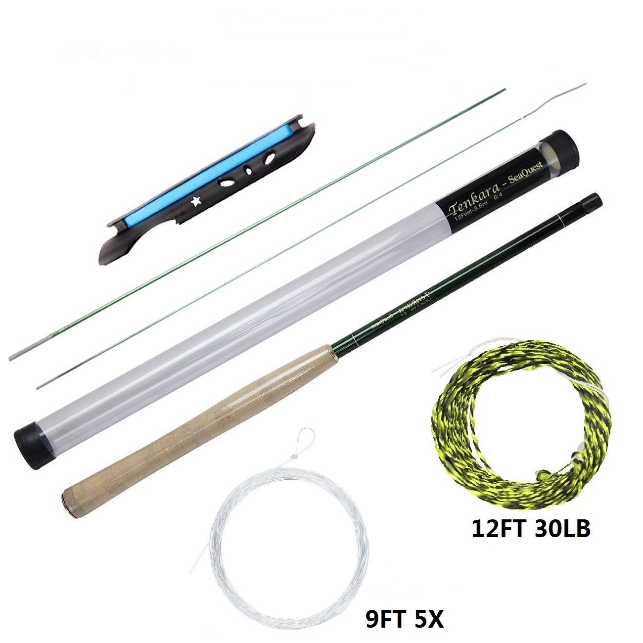 Seaquest Tenkara Rod 12FT Carbon Fiber Tenkara Rod Tenkara Line Tenkara Line Winder