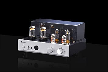MUZISHARE X3T Tube Headphone Amplifier Class A sinle-Ended EL84 Valve Integrated Amplifier
