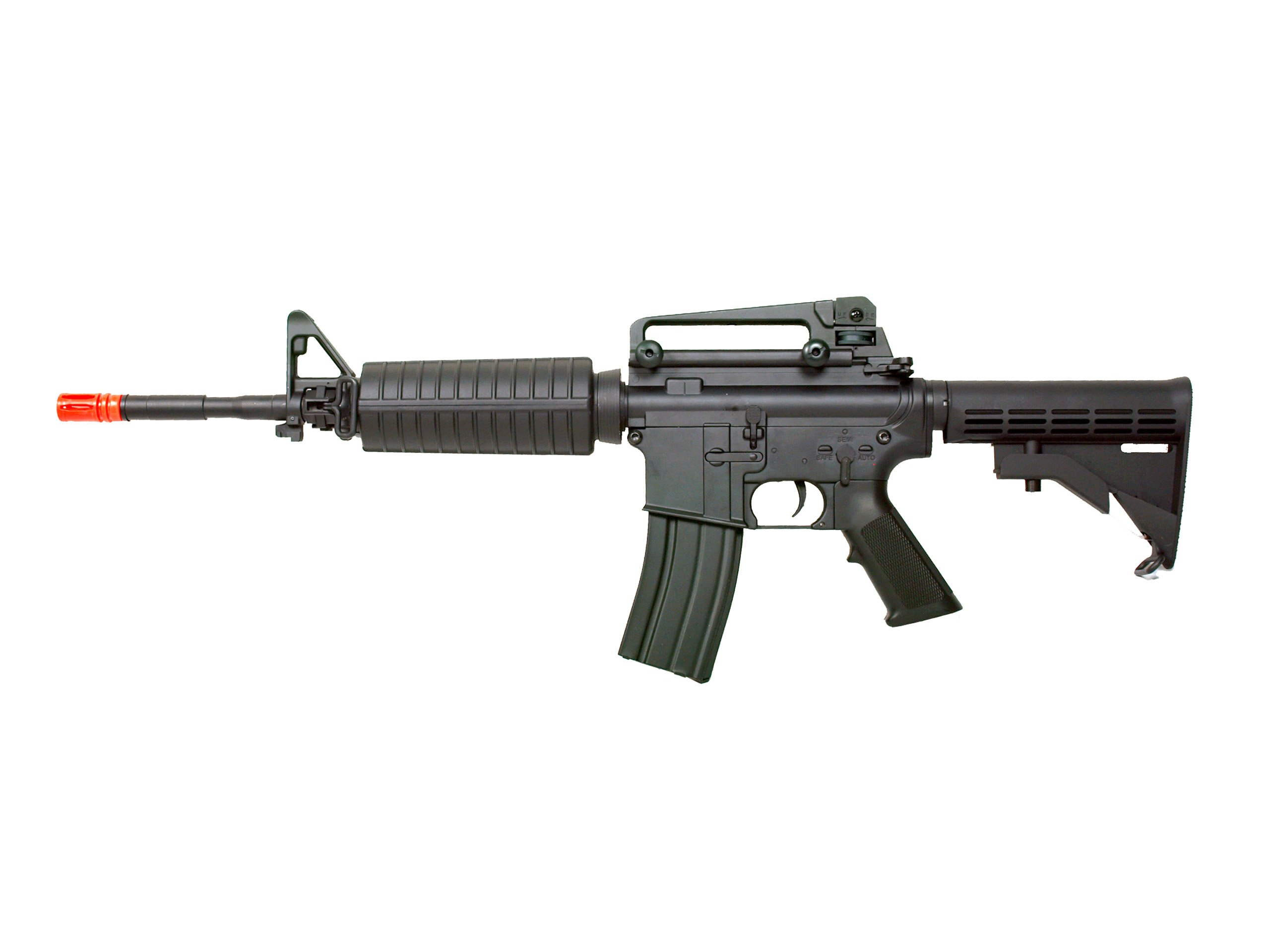 MetalTac JG FB-6604 Electric Airsoft Gun, Full Metal Body, Metal Gearbox Version 2, Auto AEG, Upgraded Powerful Spring 410 Fps with .20g BBs