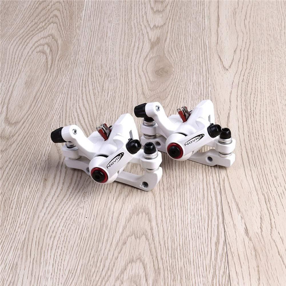 Blanc YGQersh Ensemble de c/âbles de Rotor de Levier de Frein de Disque de Frein m/écanique Avant L-1 de v/élo de v/élo