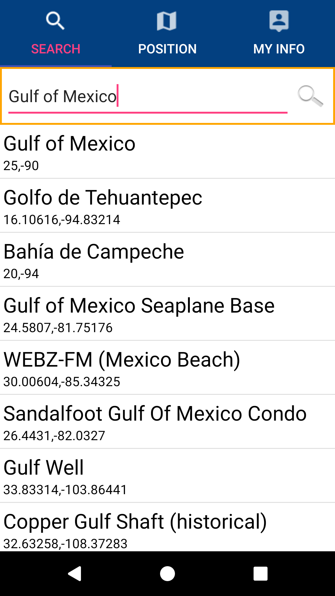 Gulf of Mexico nautical charts: Amazon.es: Appstore para Android