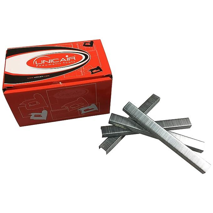 Cajita de grapas UNICAIR Tipo 80 x 8mm 10.000 unidades