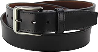 "product image for Men's Italian Leather Belt-Single Stitched Dual Layered -1.50"" Wide -Made in USA"