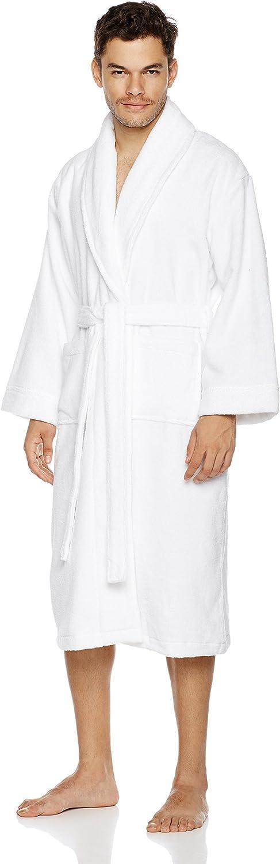 Large White Pinzon Terry Bathrobe 100/% Cotton Medium