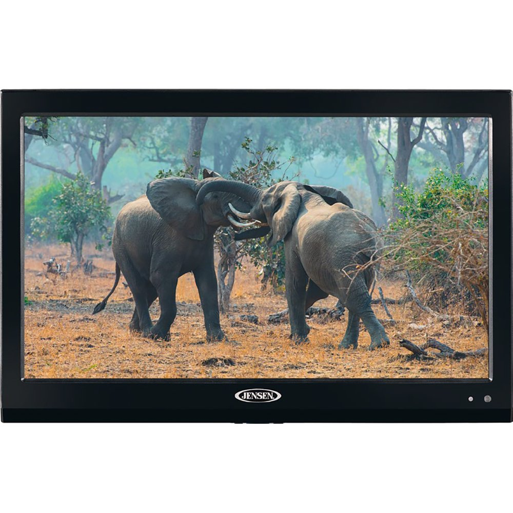 JENSEN JTV19DC HD Ready 19'' Inch LED TV with Integrated HDTV (ATSC) Tuner (1080p, 720p, 480p), 12V DC, specially built for Boats, Yacht, RV Recreational Vehicle, Trailer, Camper, Motor Home etc.