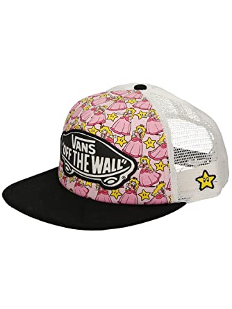 a13babdc624 Vans Nintendo Princess Peach Snapback Trucker Hat at Amazon Men s ...