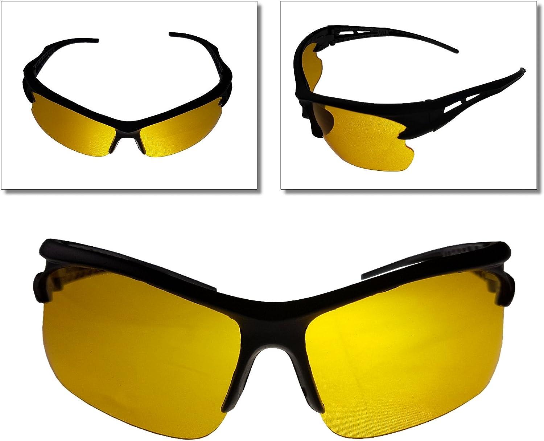 Nachtsichtbrille UV Auto Nachtfahrbrille Sonnenbrille Kontrast Brille Camping
