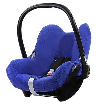 Bambiniwelt Sommerbezug Schonbezug Bezug Aus Frottee Für Maxi Cosi Cabriofix Blau Xx Baby
