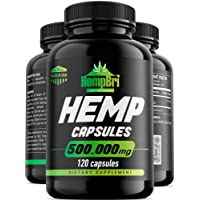 50000mg Hemp Oil Extract Capsules For Pain Relief & Anxiety Best Joint Support your...
