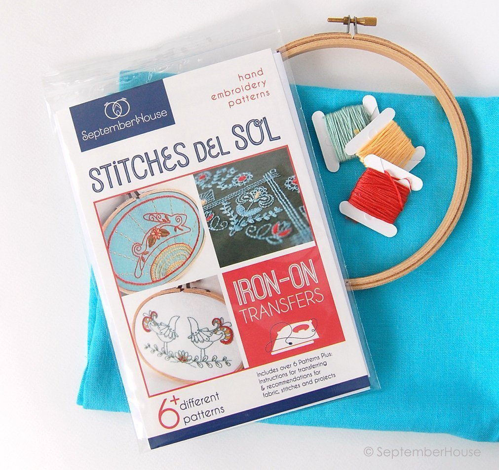 Amazon Stitches De Sol Hand Embroidery Patterns Mexican Folk