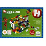 Hubelino 420329 - Kugelbahn - Grundplatte 560 Noppen - ab 3 Jahre (100% kompatibel mit Duplo)