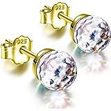 Alex Perry Regalo para Ella, Mujeres Pendientes Fantástico World Series, Plata de Ley 925, 6mm Cristales De Swarovski…