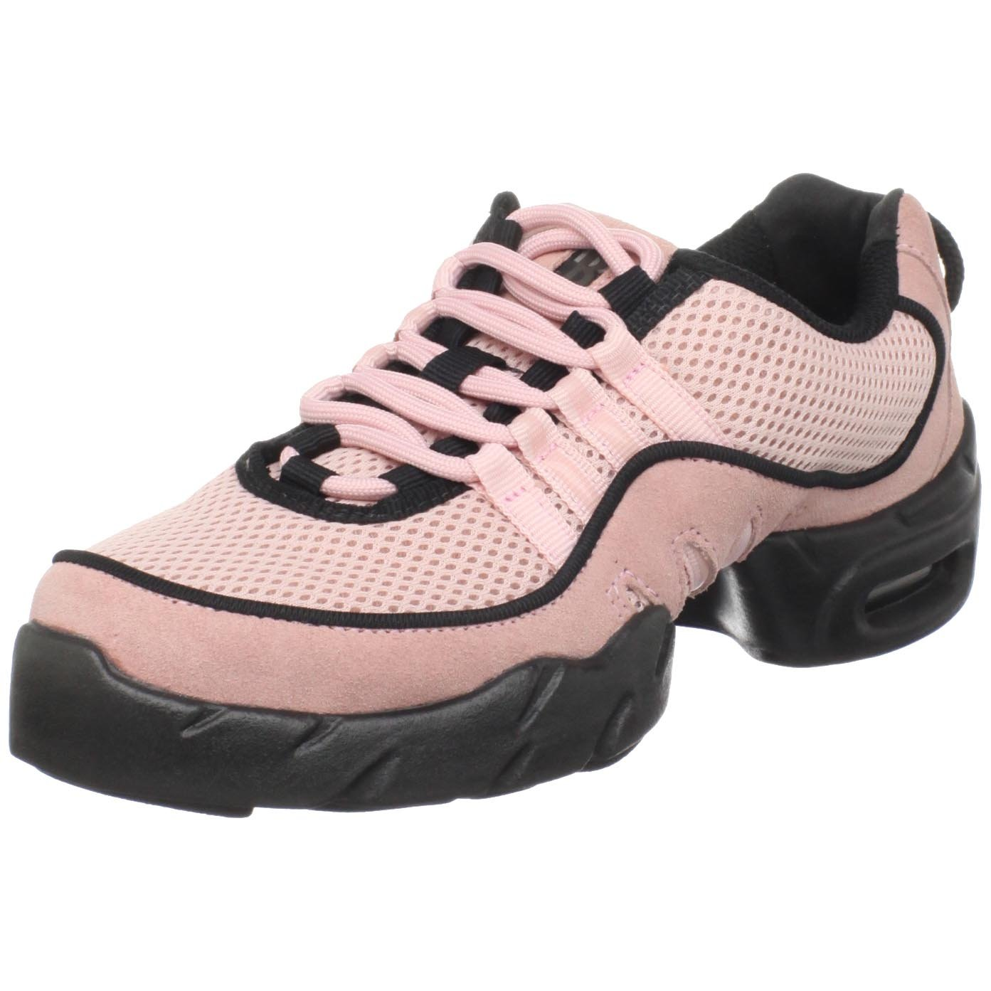 Bloch Dance Women's Boost Mesh DRT Split Sole Dance Sneaker B0041IXKHM 8.5 X(Medium) US|Pink