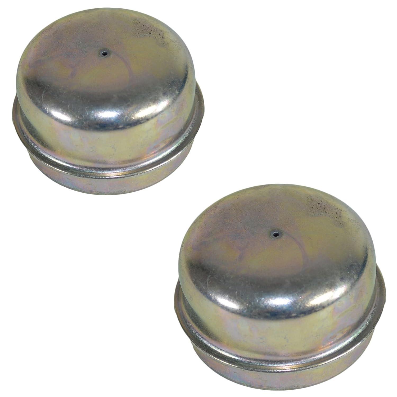 2 50mm bouchon anti-poussi/ère m/étal moyeu roulement couvercgraissage