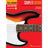 Hal Leonard Bass Method - Complete Edition: Books 1, 2 and 3 Bound Together in One Easy-to-Use Volume! Bk/Online Audio (GUITA