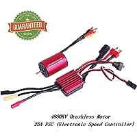 2435 4800KV Brushless Motor Sensorless 2mm With 25A