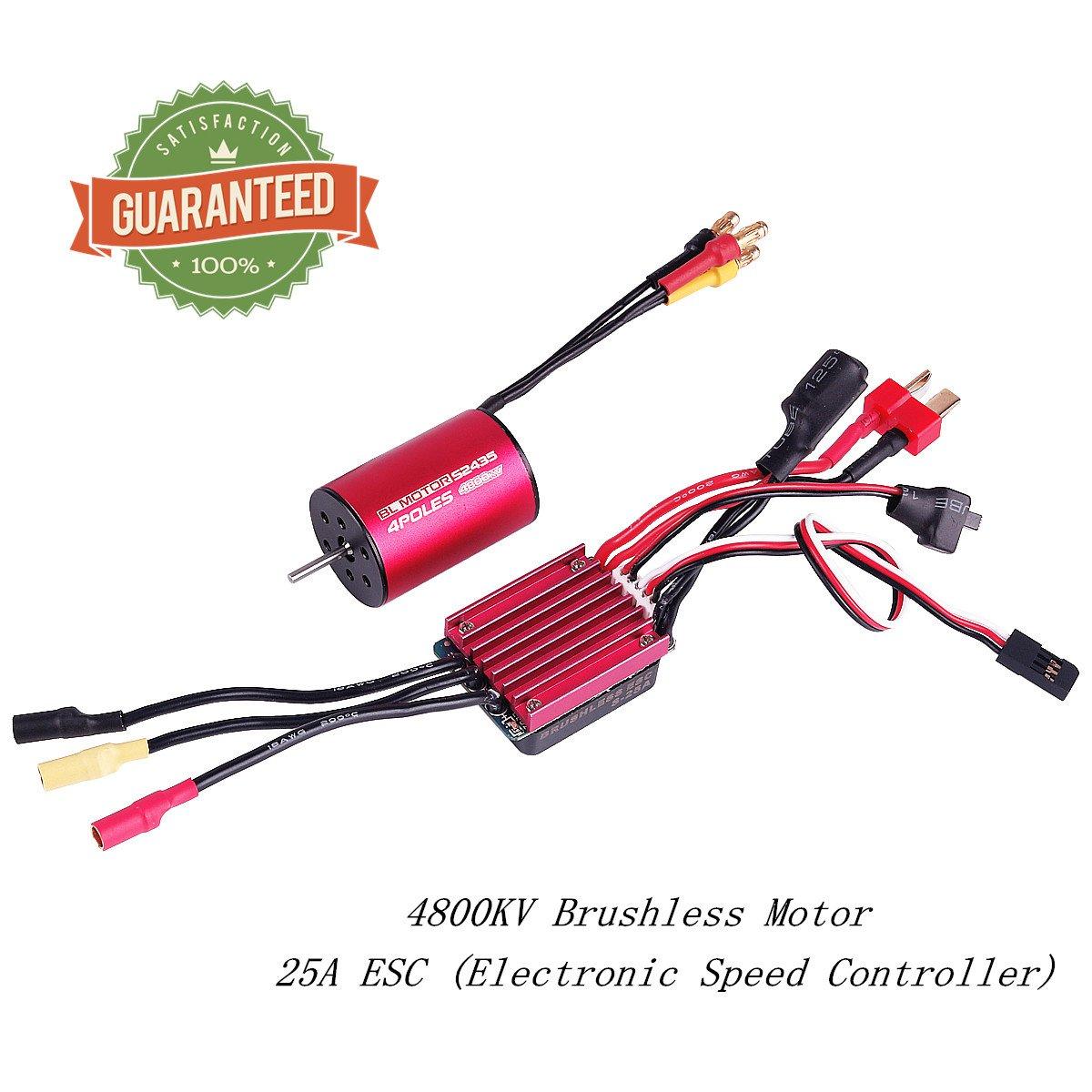 Brushless Motor Sensorless 2mm y ESC