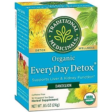top best Traditional Medicinals Organic Dandelion Everyday Detox Tea