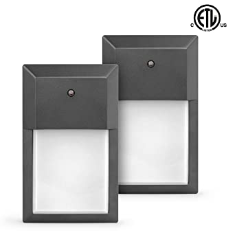 shine hai led wall pack light lumens 12w 100150w replacement