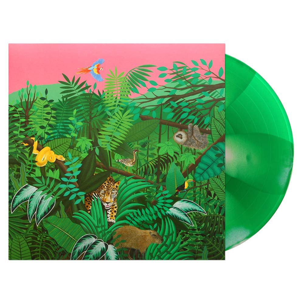 Good Nature Pink and Green Vinyl