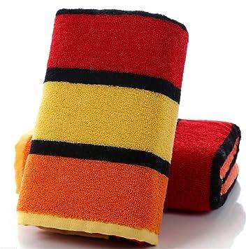 Conjunto de toallas de algodón Gasa Enrejado Cuarto de baño Colorido Cocina Comodidad Hotel de felpa