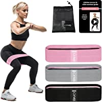 GYMB Booty Bands for Women Butt and Legs - Non Slip Resistance Bands to Work Out Glute, Thighs & Squat - Includes…