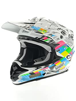 Shoei VFX de W krack TC de 10 – Cross Casco Talla:S (55
