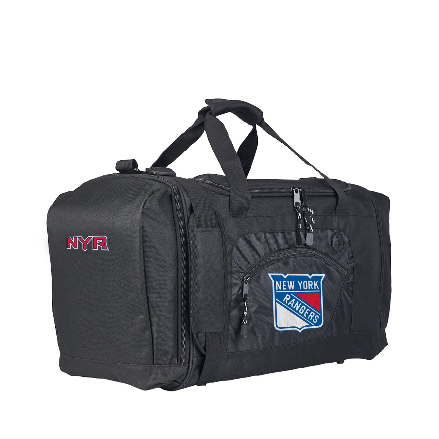 The Northwest Company Officially Licensed NHL New York Rangers Roadblock Duffel