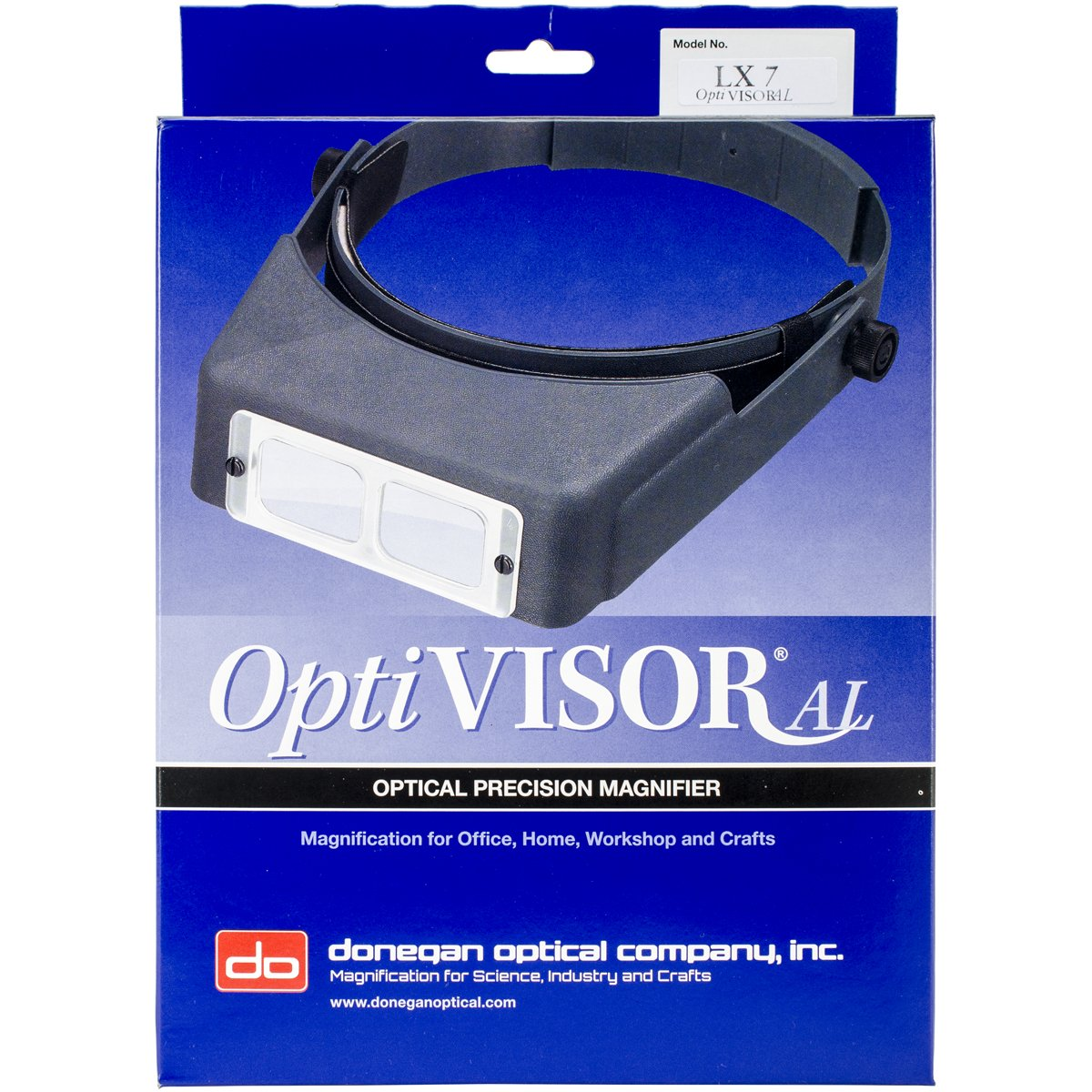 Donegan Optical Binocular Magnifier, Lensplate No.7